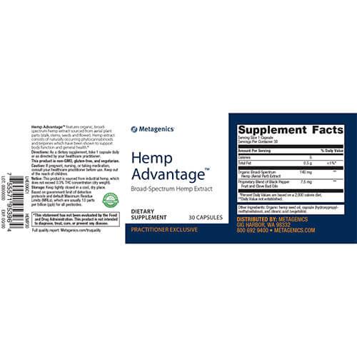 Hemp-Advantage-supplement-fact