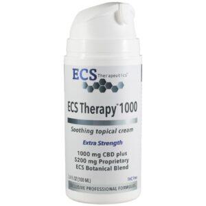 ECS Therapy 1000 BS Hemp Cream