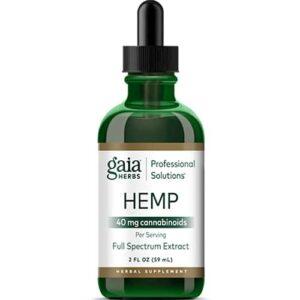 Gaia Herbs Hemp 40 mg