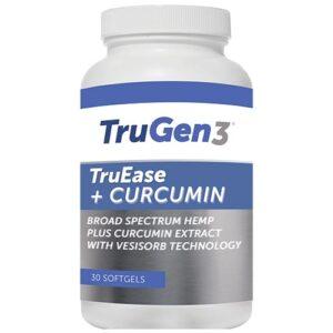 TruEase + Curcumin 30 softgels